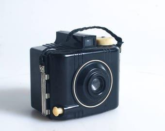 Baby Brownie Bakelite Camera Working
