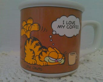 1978 Garfield Coffee Cup