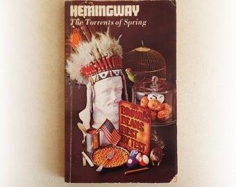 Ernest Hemingway - The Torrents of Spring - Penguin vintage paperback book - 1964