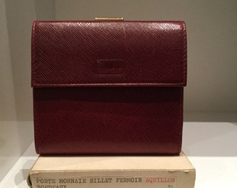 Lancel door vintage money and ticket
