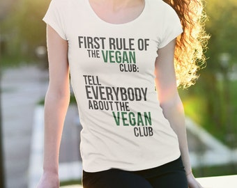 VEGAN CLUB | Vegan shirt, Vegan Clothing, Vegan Gifts, Vegan tshirt, vegan top, vegan clothes, vegan tee, vegan apparel, veganism