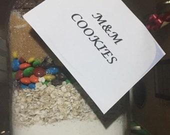 M & M Cookie Jar
