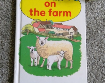 Vintage Ladybird Book On The Farm.  Hardback.   1983