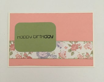 Handmade Card - Happy Birthday (HB26)
