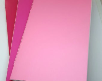 Set of 3 travelers notebook inserts for midori/fauxdori