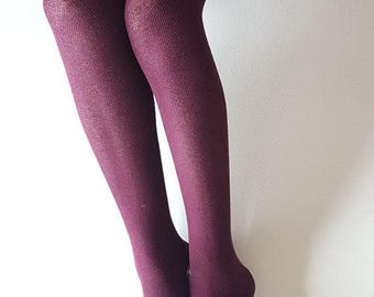 Cotton tights | elegant tights | women's tights | eco tights | present for Mother | gift for her