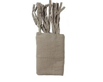 NATURAL LINEN CURTAINS 140×260 cm - stonewashed linen, softened linen curtains - natural color