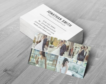 Business Card Template - Photoshop Templates for Photographers - B05