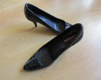 Shoes vintage PRADA Prada black size 37 to-65%