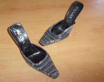 Vintage Prada size 38 shoes to-68%
