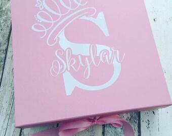 Baby Girl or Boy Keepsake Gift box