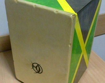 Cajon drum box with two face
