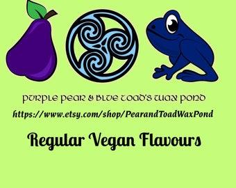 Regular Vegan  Lip Balm Flavours