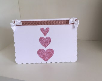 Home made blank occasion card