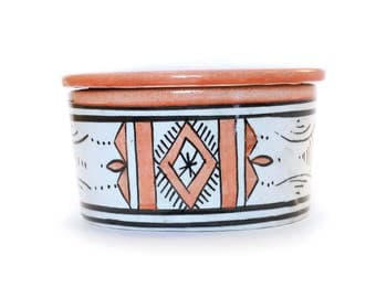 Atlas Jewellery Pot, Orange