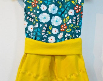 Romper one-piece evolutionary biological 9-36 months grow with me one part organic