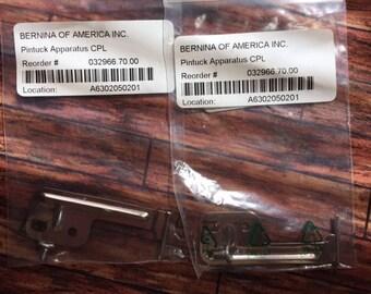 Genuine Bernina Pintuck Apparatus