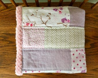 Beautiful Spring Inspired Baby Blanket