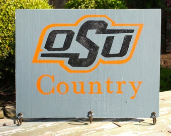"""Customizable, Hand Painted Wood Sign -- """"OSU Country"""""""
