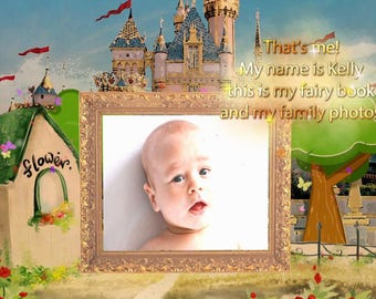 I will make professional video, fairybook slideshow of your photos