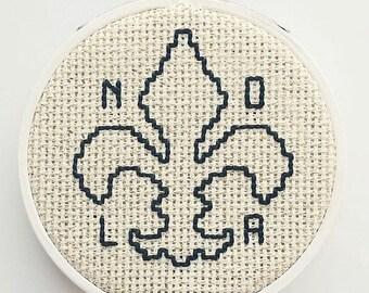 NOLA Embroidery Hoop