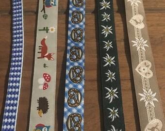 Medium Ribbon Bookmark 22cm to 24cm