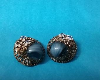 Costume Jewelry clip on earrings