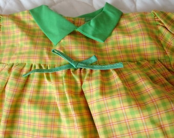 Three 1950 Baby Dresses size 12/18 months New