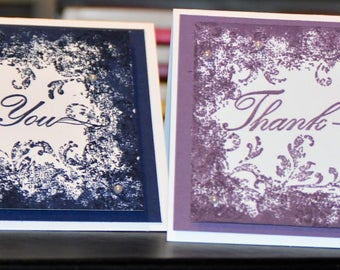 Thank you Stampin' Up! Card set of 10