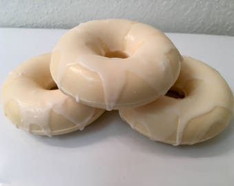 Hand-crafted Donut Soap - Lemon Cake & Cream Cheese Scent