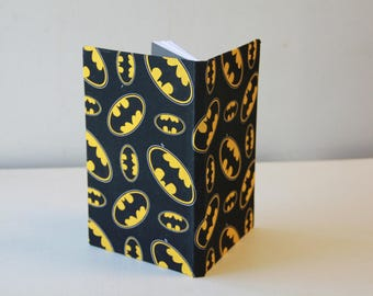 Handmade Batman Notebook/Journal