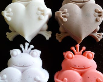Frog Prince with Heart - Goat's Milk Soap