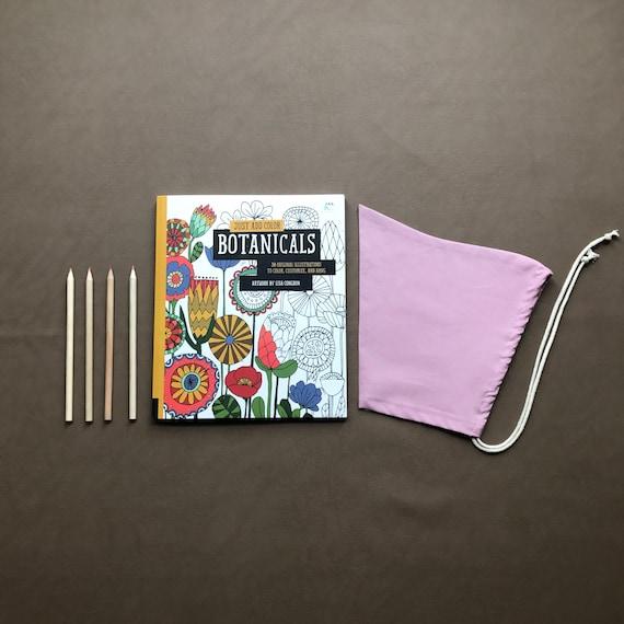 Pixie Bonnet // Mauve Pink // Pull String