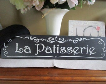 La Patisserie French Bakery Sign
