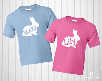 Personalized Bunny Tee- Infant Sizes