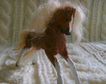 Chestnut Miniature Rocking Horse