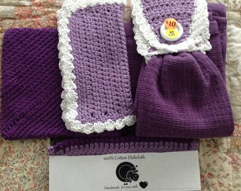 Dish cloth set