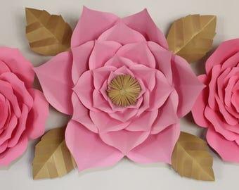 Paper Flower Kit, BackDrop Kit, Flower BackDrop, Party BackGround, PhotoBooth BackDrop, Paper Flower Wall, Wedding Deco