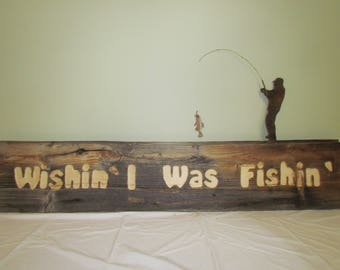 Custom Carved Barnwood Sign