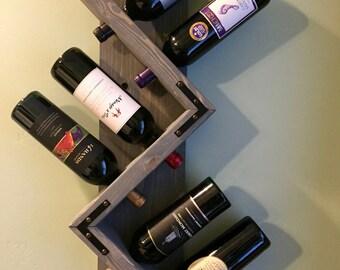 wine rack wine rack wall mounted wine rack distressed rustic wine rack