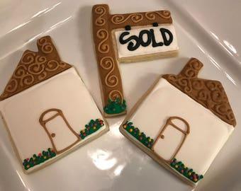 Realtor Cookies / House Cookies
