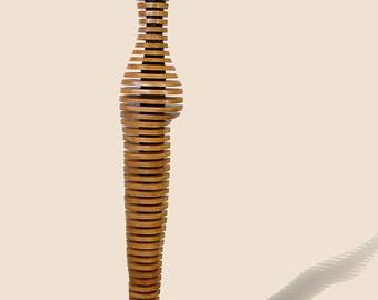 wood &steel sculpture