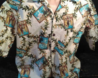Vintage Mens XL Hawaiian Shirt