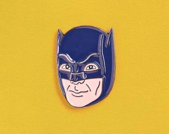 Adam West Batman Enamel Pin