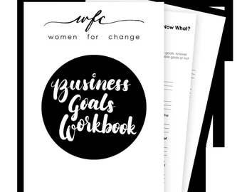 Business Goals Workbook