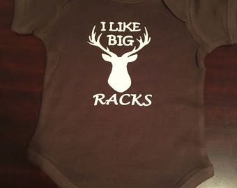 I like big racks onsie