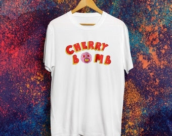 Cherry Bomb T-shirt Tyler The Creator T-shirt Earl Sweatshirt T-shirt OFWGKTA Golf Wang T-shirt Skate shirt Frank Ocean Tshirt 90th Teen Tee