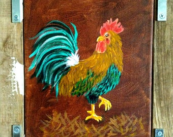 Rooster on The Lam
