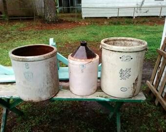Custom clay pots. Very old.