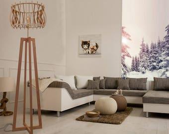 "Lamp design wood ""Pyramid"""